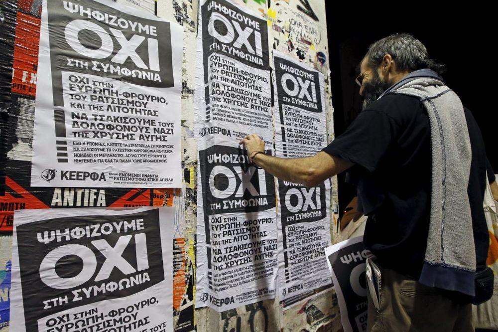 ANKETE: Evo kako će Grci glasati na referendumu u nedelju