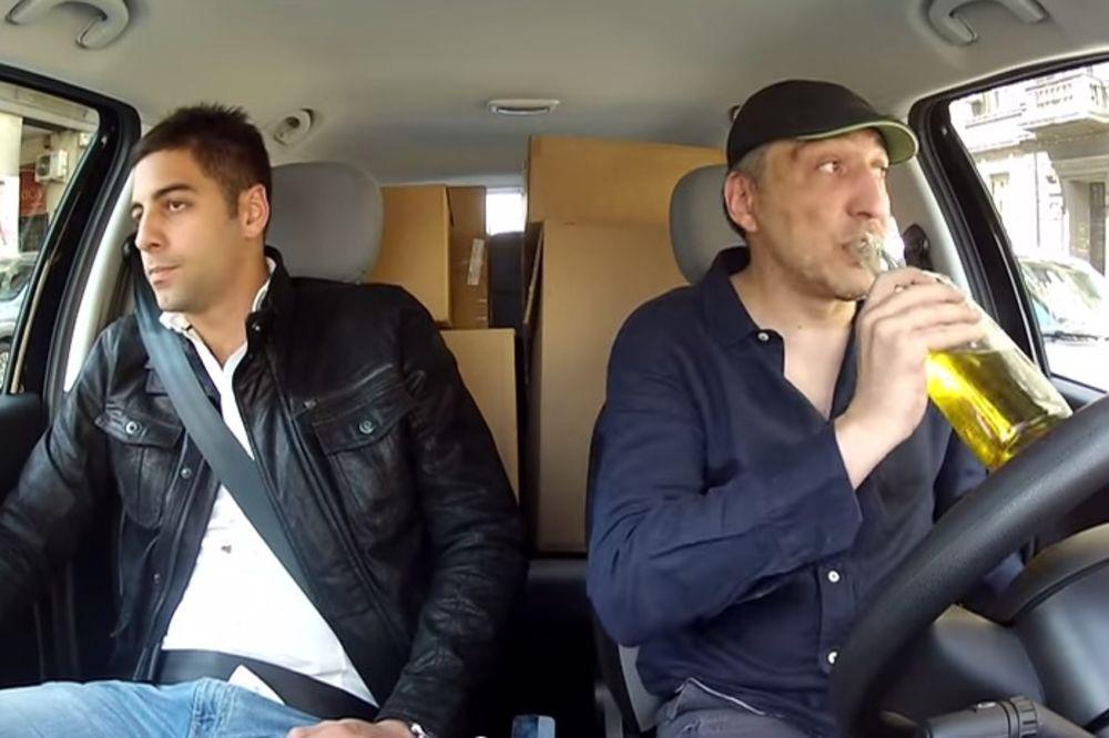 GLUMAC PREŽIVEO DRAMU, UMALO TUČA: Mrtav pijan vozač divljao po Beogradu dok ga je vozio na kasting!