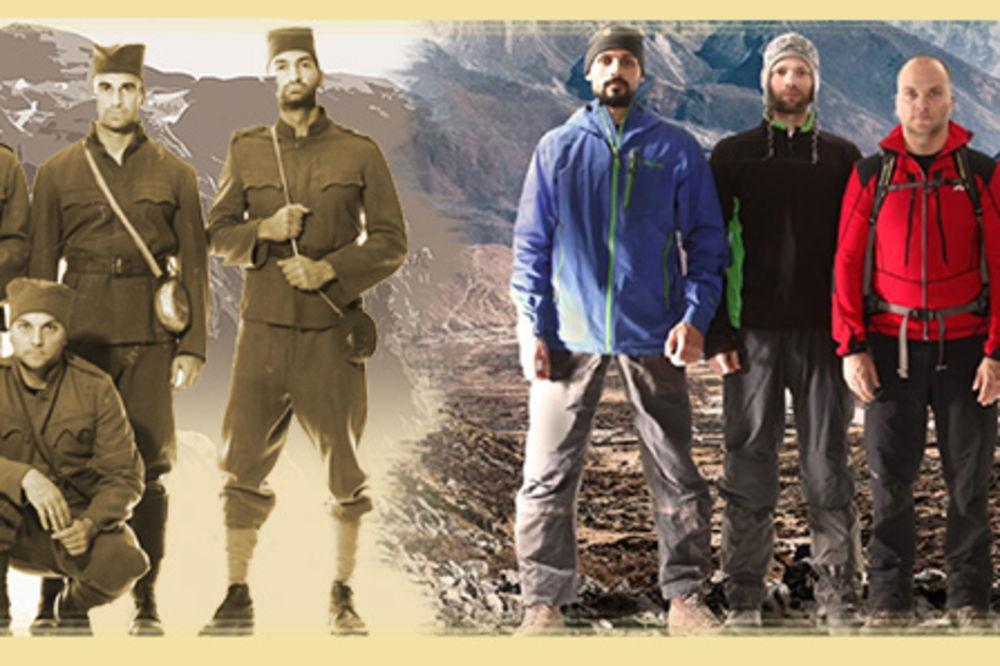 ALBANSKA GOLGOTA 2015 - Planinari kreću preko Prokletija putem srpske vojske