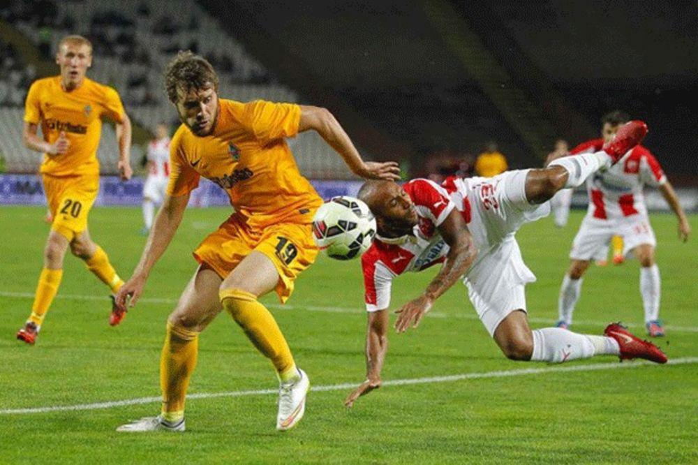 DIGLI RUKE OD CRVENO-BELIH: Nema TV prenosa Zvezdine utakmice u Kazahstanu