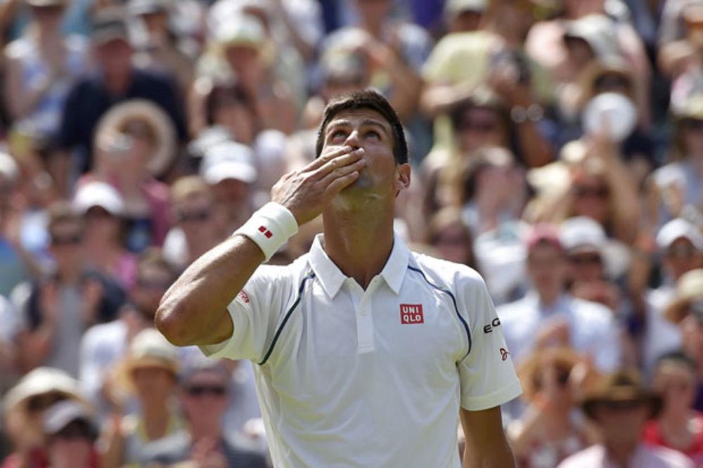 (VIDEO) ODLUČAN DA POBEDI: Evo šta motiviše Novaka da osvoji Vimbldon