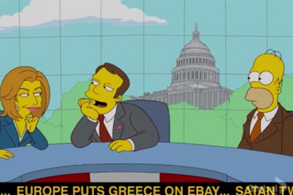 VIDOVITI SIMPSONOVI: Popularni crtać predvideo grčku krizu i epidemiju ebole