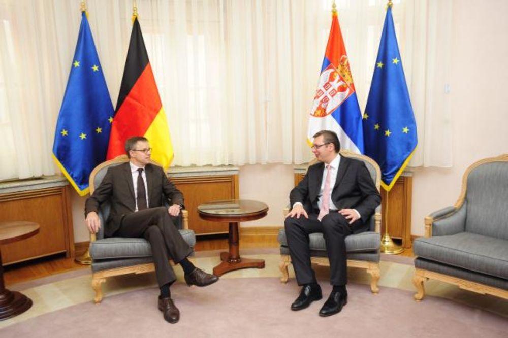 DITMAN KOD VUČIĆA: Premijer ugostio novog nemačkog ambasadora