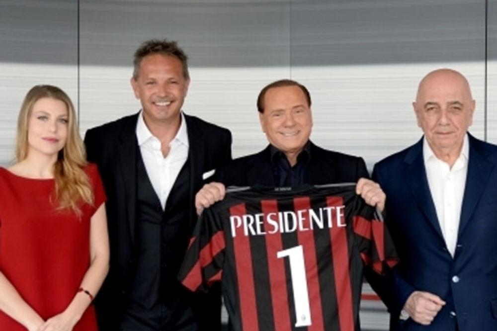 BERLUSKONI TRAŽI OD MIHAJLOVIĆA: Siniša, vrati Milan u Ligu šampiona!