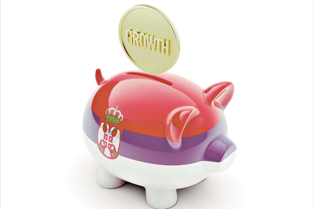 Srbija po rastu BDP ispred Švajcarske!