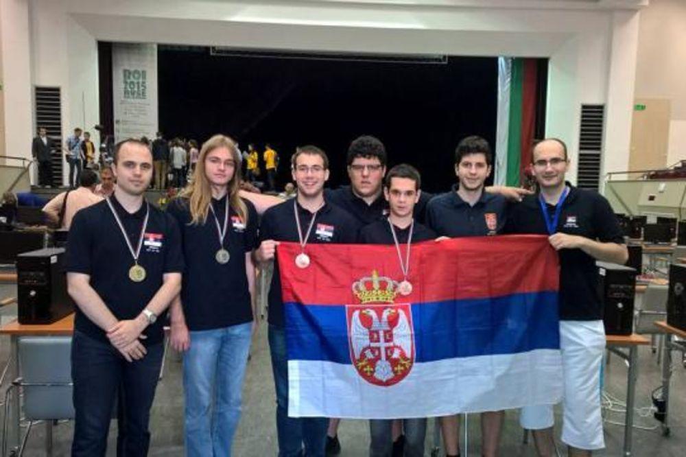 DONELI NAM 4 MEDALJE: Novi uspeh mladih srpskih programera
