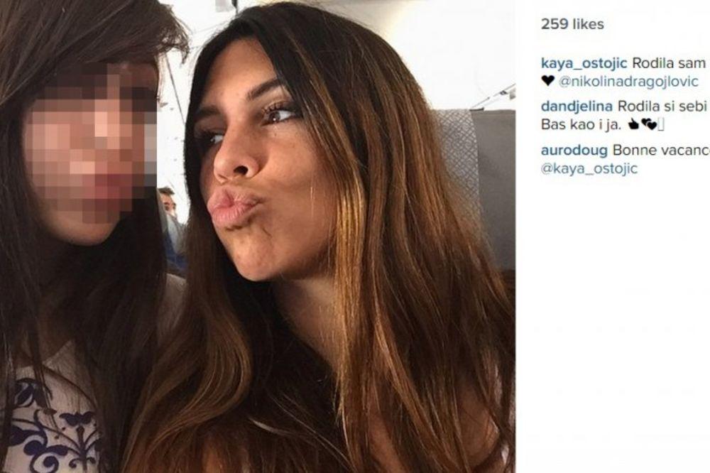 (FOTO) PRAVI DEVOJČURAK: Ćerka naše poznate pevačice oduševila fanove!