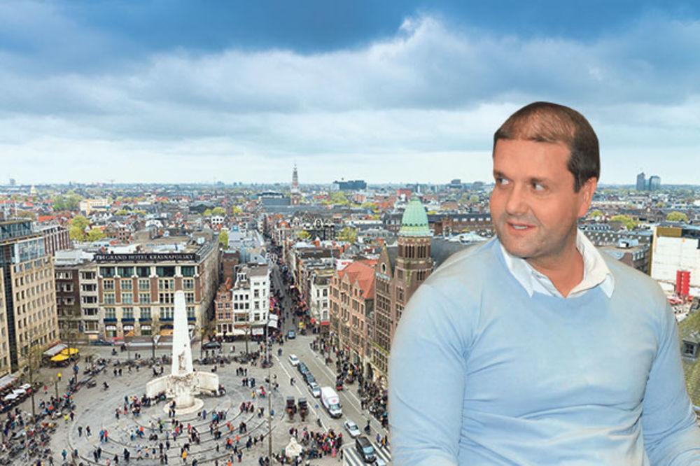 UHAPŠEN PO SRPSKOJ POTERNICI: Šarićev vojnik Darko Tošić pao u Amsterdamu