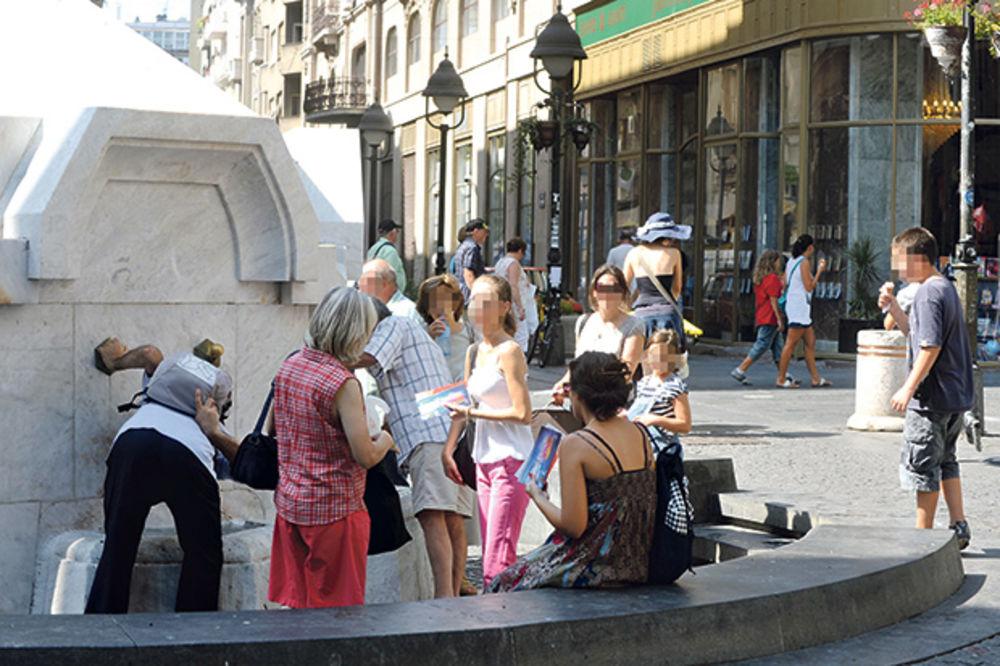 MAKSIMALNA TEMPERATURA 39 STEPENI: Sunce u Srbiji će danas nemilice pržiti