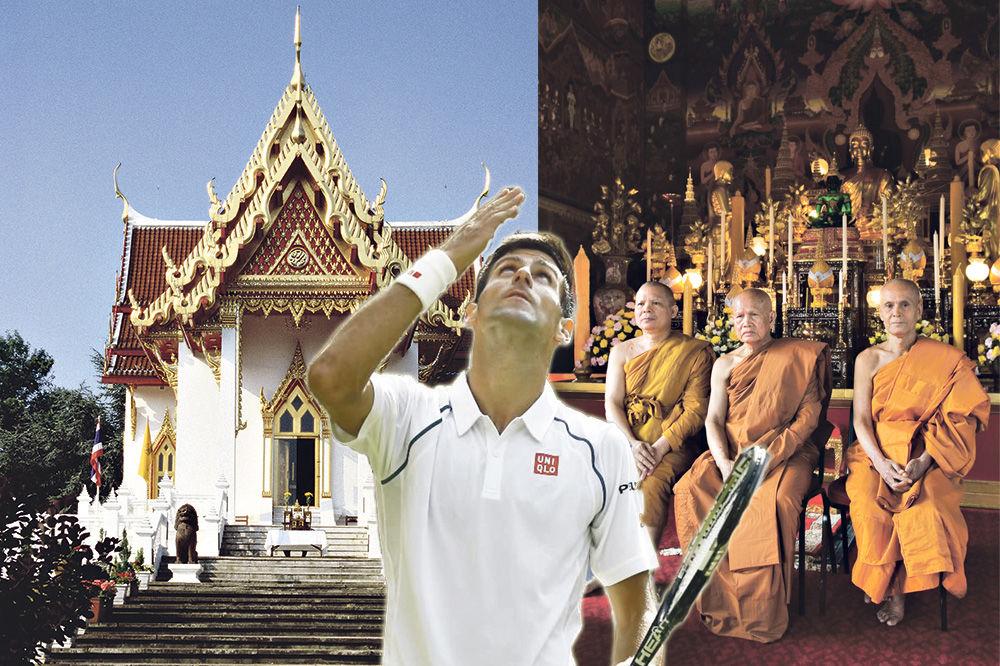 MONAH: Novak baš ume da meditira
