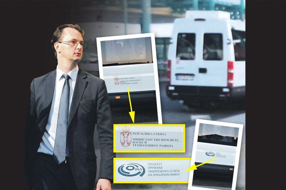 BAHATO U RESORU SRĐANA VERBIĆA: Državnim minibusom, u šorcu i papučama u provod u Mađarsku!