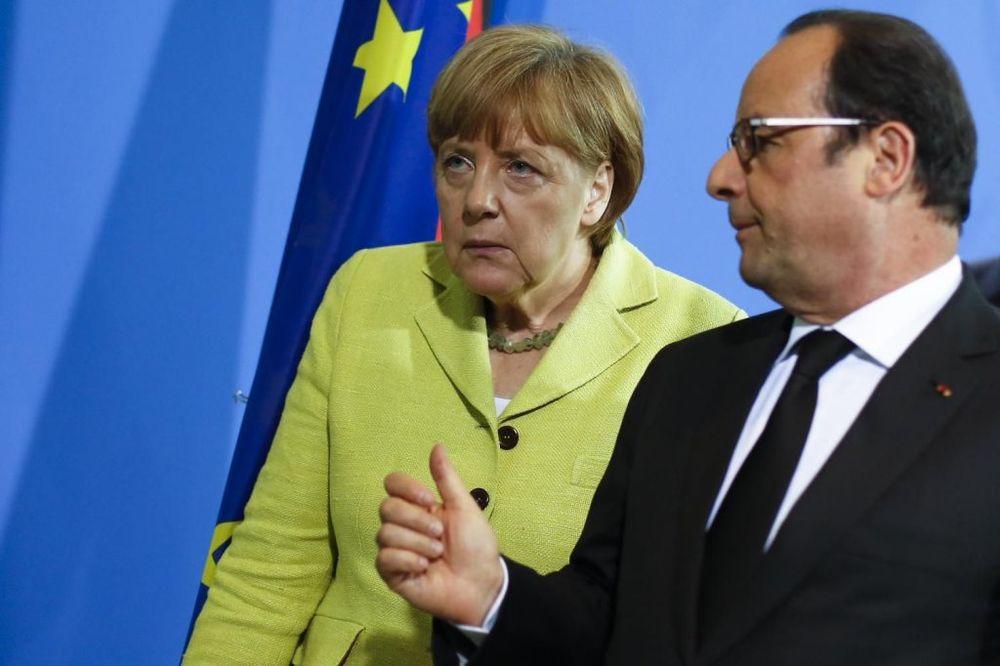 MERKEL I OLAND SMIRUJU EVROPU: Ostaviti otvorena vrata za pregovore sa Grčkom