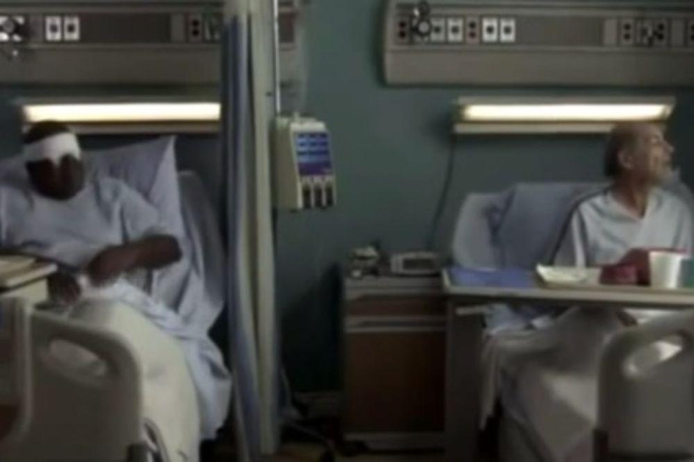 (VIDEO) Slepi pacijent zamolio sestru da pogleda kroz prozor. Ono što je usledilo će vas šokirati