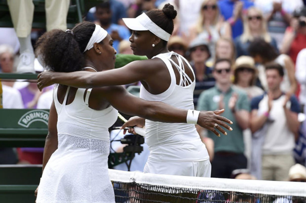 BLOG UŽIVO: Serena nadigrala sestru Venus za četvrtfinale Vimbldona