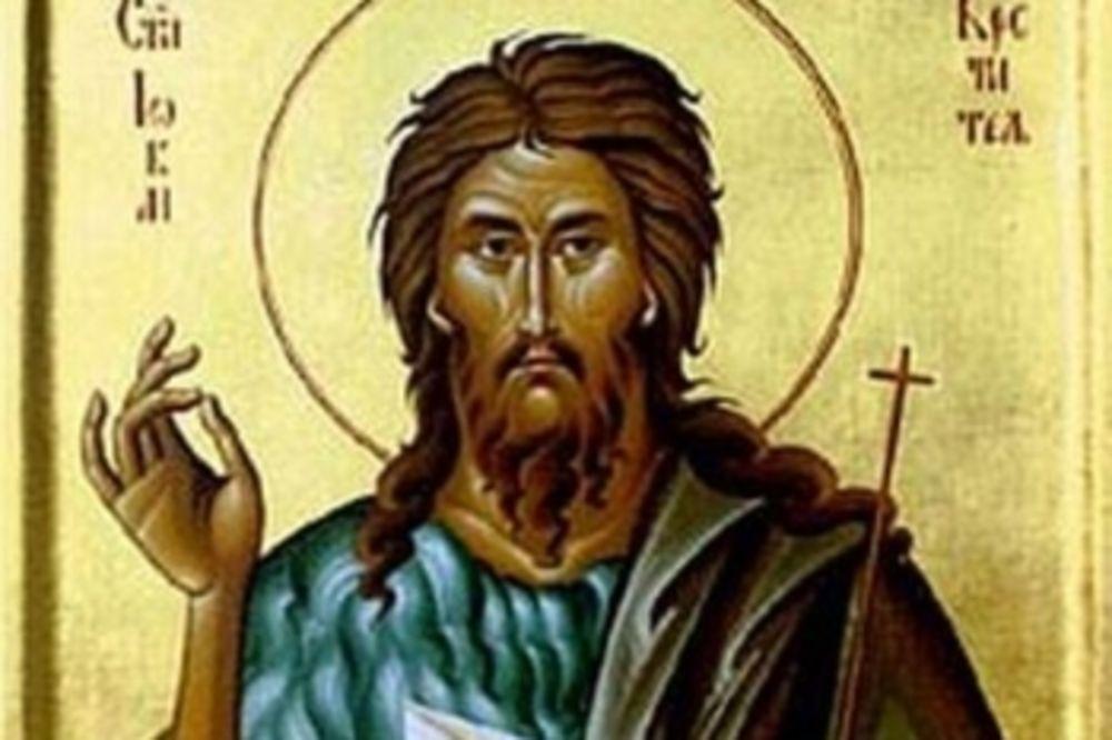 SLAVIMO KUMA BOŽJEG: Danas je rođenje Svetog Jovana Preteče i Krstitelja