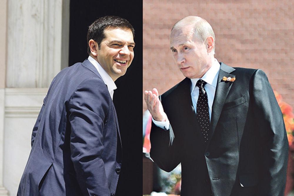 OKREĆU SE RUSIJI: Putin spasava Grke ako pređu na drahmu!
