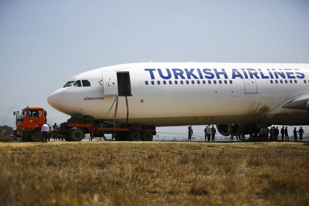 Avion Turkiš erlajnz 07.03.2015, Foto Reuters