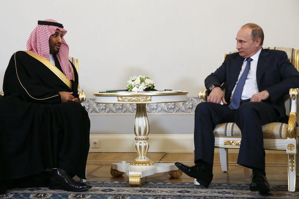 MAMAC ZA PUTINA: Saudijci nude Rusiji ugovore vredne sto milijardi dolara