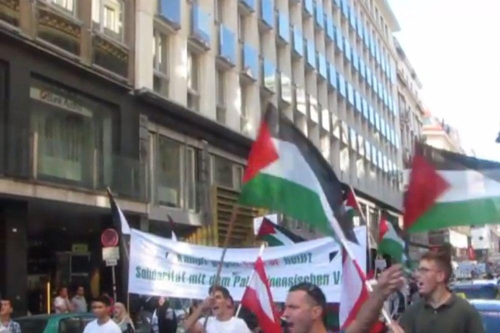NAPETO U BEČU: Demonstracije islamista i kontramiting protiv antisemitizma!