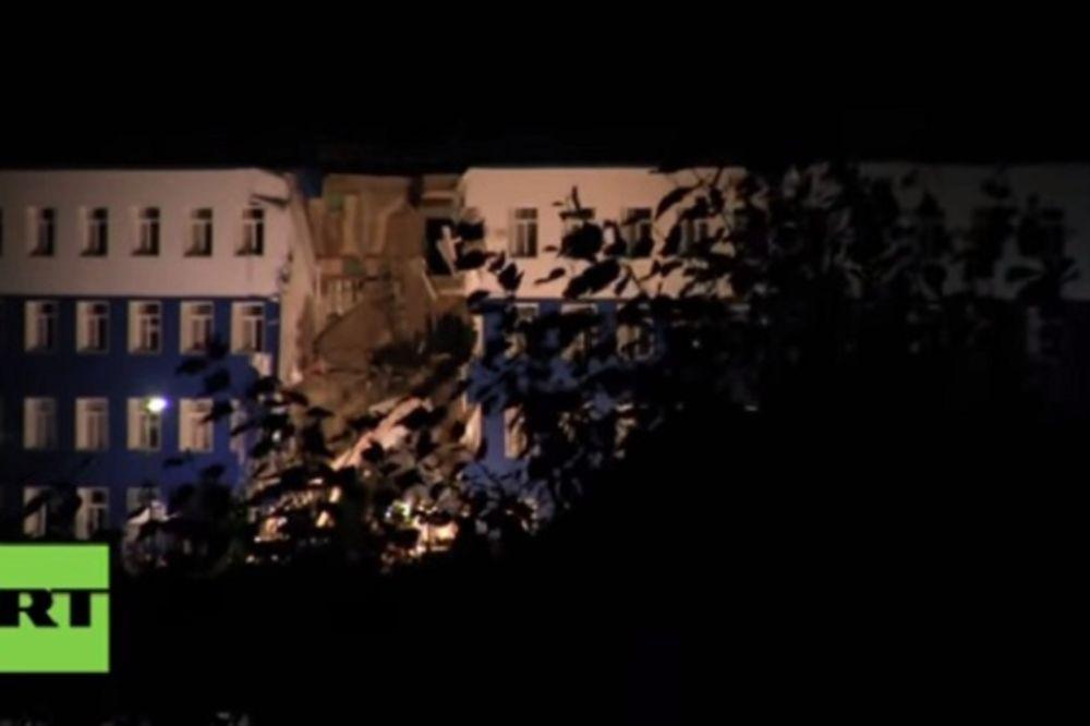 (VIDEO) TRAGEDIJA U SIBIRU: Urušila se kasarna, stradala 23 vojnika