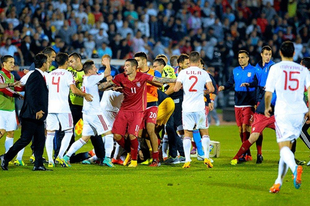 ALBANCI OBEĆAVAJU: Srpski fudbaleri biće čuvaniji od Buša, Vučića i pape!