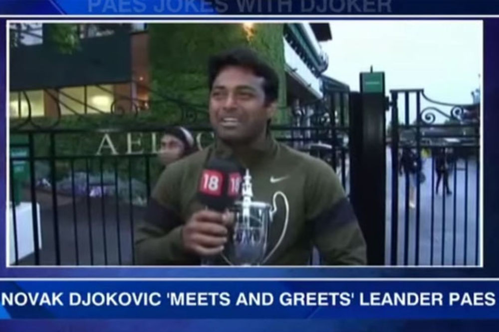 (VIDEO) LEGENDA SE POKLONILA NOLETU: Leander Paes prekinuo intervju da bi odao poštovanje Đokoviću!