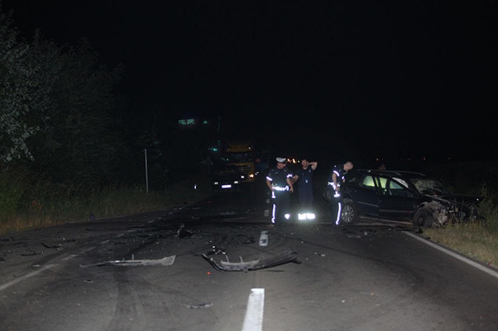 TEŠKA SAOBRAĆAJKA KOD LESKOVCA: Izgubio kontrolu nad vozilom i smrskao se!