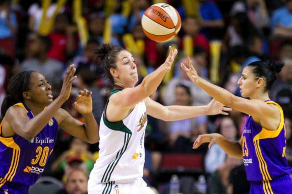 SRPKINJA BRILJIRA U WNBA: Sjajna Ana Dabović u novoj pobedi Los Anđelesa