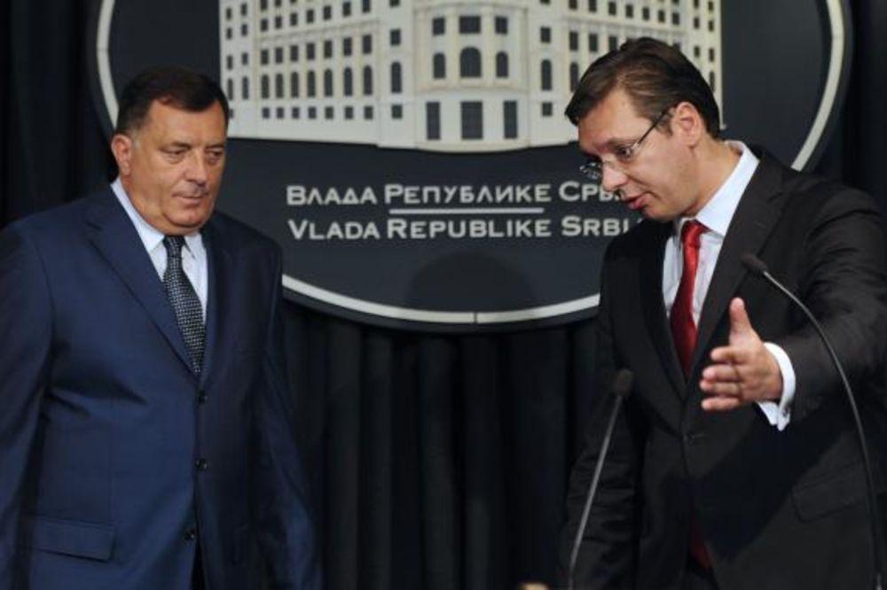 DODIK: Prihvatam pomoć Srbije da izbegnemo referendum