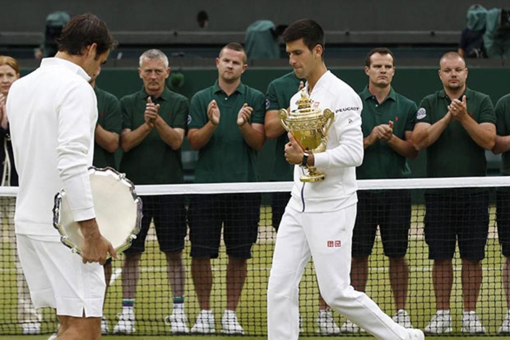 (VIDEO) JEDNOSTAVNO PO VILANDERU: Dok je Đokovića, Federer nema šta da traži na gren slemovima