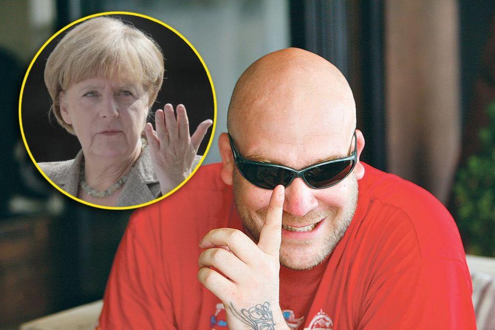 NEMAČKI REPER POZVAN NA FARMU I VB: Angeli Merkel sam za uvrede platio 8.000 evra!