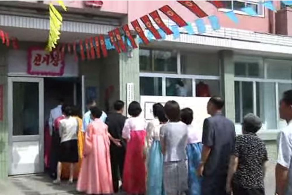 (VIDEO) KAD KIM RASPIŠE IZBORE: 99,97 Severnokorejaca glasalo, evo i šta je bilo s ostalima