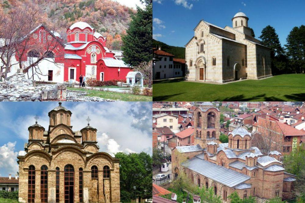 4 SRPSKE SVETINJE: Ovi manastiri su upisani na Listu svetske baštine UNESKO