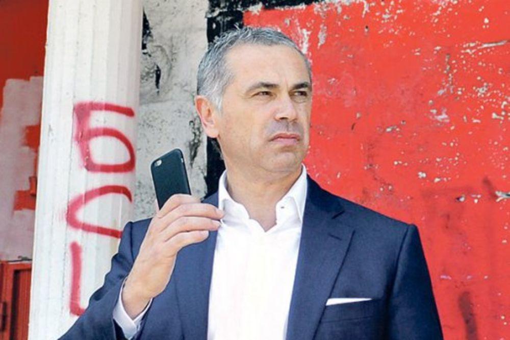 TERZIĆ O ZVEZDI: Priča se o Ligi šampiona, a mi se borimo za opstanak kluba