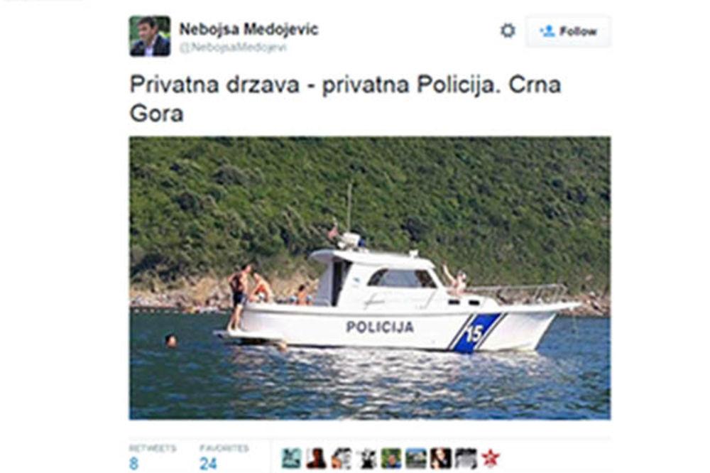 FOTO BAHANALIJE: CG policajci napravili žurku na službenom brodu!