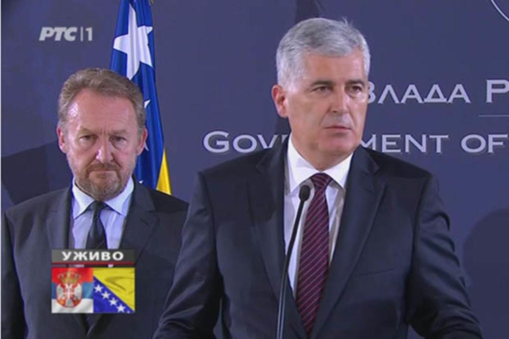 BRISEL: Čović i Izetbegović na konferenciji o 20. godišnjici Dejtonskog sporazuma