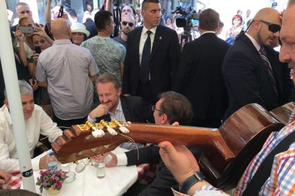 Čović: Vučić dao primer kako se dočekuju prijatelji