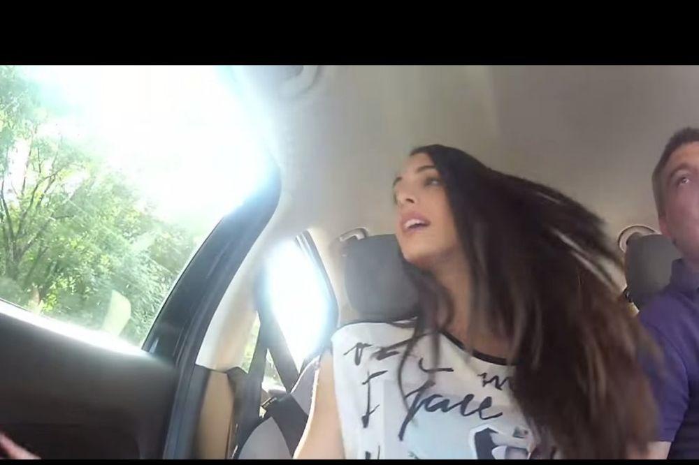 (VIDEO) BRANKICA SEBASTIJANOVIĆ OSMEHOM SMIRIVALA VOZAČA: Tek ću da vidim da li sam u jednom komadu!