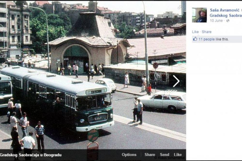 (FOTO) PRIZORI KOJI BUDE NOSTALGIJU: Koja boja gradskog prevoza u BG vam je bila najbolja?