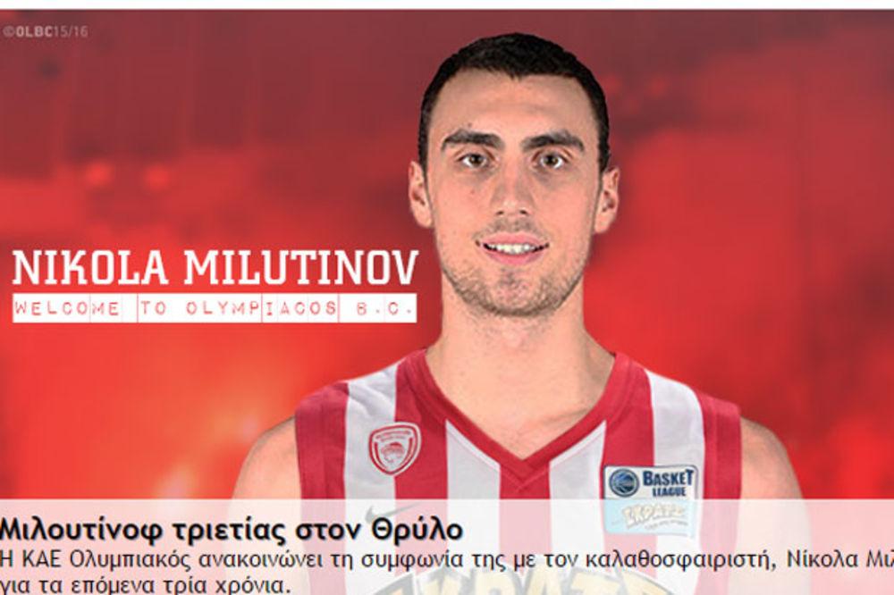 MILUTINOV U ATINI: Izgaraću za Olimpijakos, najbolju ekipu u Evropi