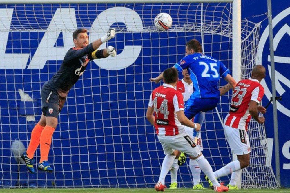(VIDEO, FOTO) KIKS ZVEZDE: Crveno-beli osvojili samo bod u Gornjem Milanovcu protiv Metalca