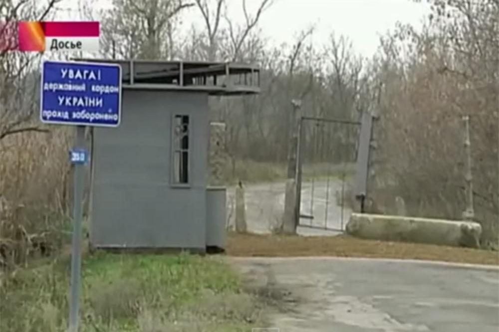 IZ ČISTA MIRA: Rus pravio selfi ispred granice, Ukrajinac ga upucao pravo u grudi!