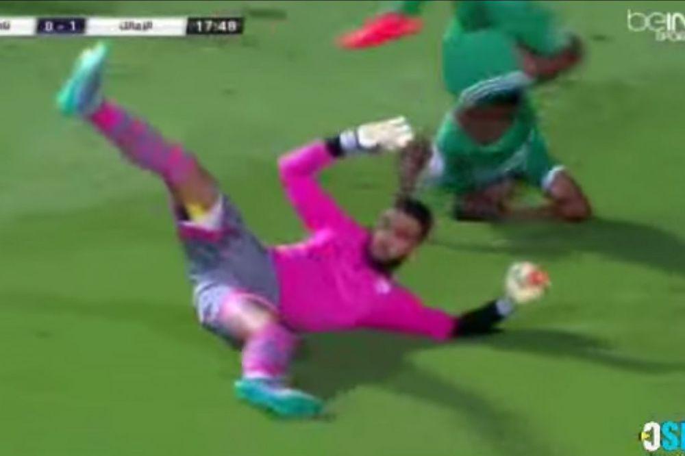 (VIDEO) PRAVO NA GLAVU: Zbog ovog pada afrički fudbaler bi mogao ostati paralizovan