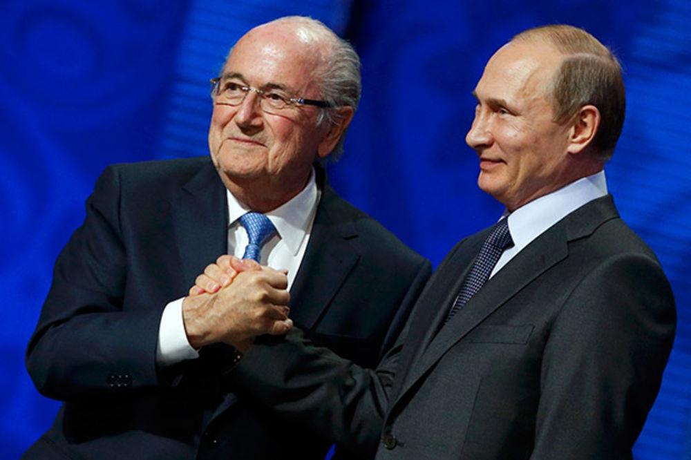 PUTIN: Blater zaslužuje Nobela za vođenje FIFA