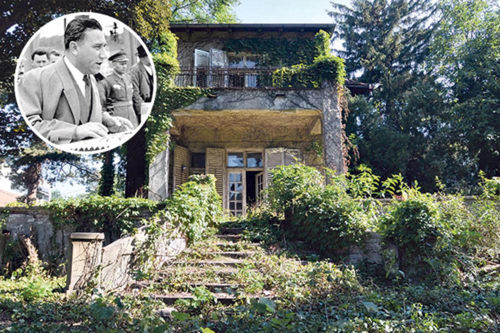 LEKINA RUINA I DALJE PROPADA: Rankovićeva kuća kao iz horora, a košta čak 4,5 miliona evra!