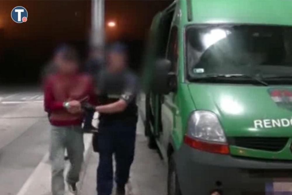 VIDEO KRVAVI OBRAČUN MIGRANATA: Ovako je uhapšen Avganistanac koji je ubio sunarodnika na granici