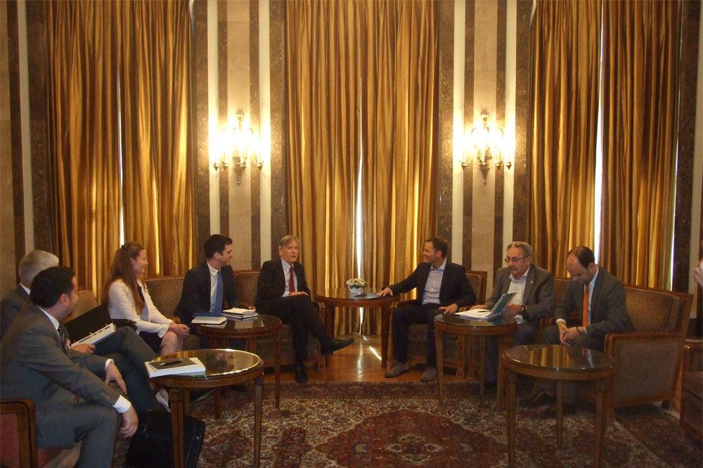 PROJEKTI GRADA BEOGRADA: Mali se sastao sa predstavnicima Svetske banke