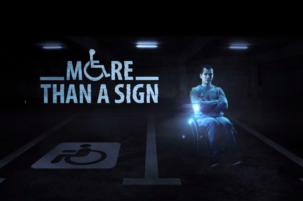 (VIDEO) AKO OVO NE POMOGNE, NEĆE NIŠTA: Hologrami invalida čuvaju parking mesta!