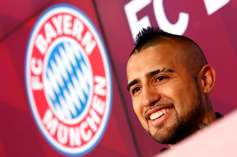 VIDAL U BAJERNU: Bavarci našli zamenu za Švajnštajgera u Juventusu