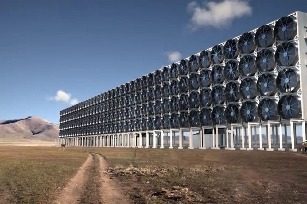 (VIDEO) Revolucionarno, a jednostavno: Predstavljena mašina koja čisti vazduh